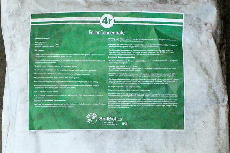 4r Foliar Concentrate