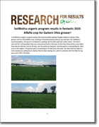 Eastern Ohio Alfalfa Results