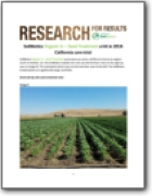 California Organic Seed Treatment Trial